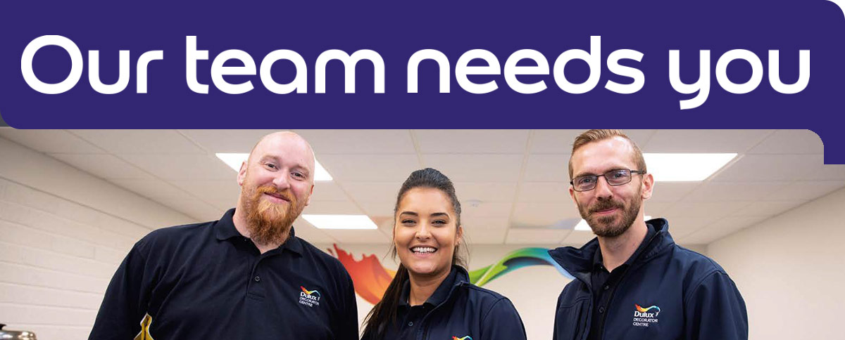 Our team needs you